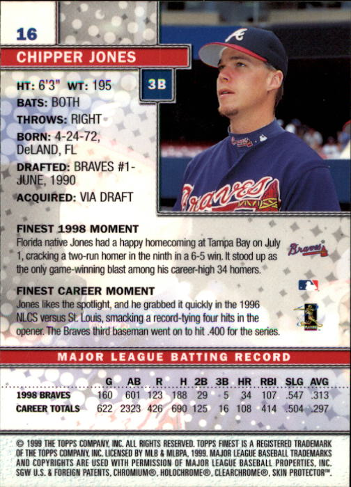 1999-Finest-Baseball-1-279-Finish-Your-Set-GOTBASEBALLCARDS thumbnail 33