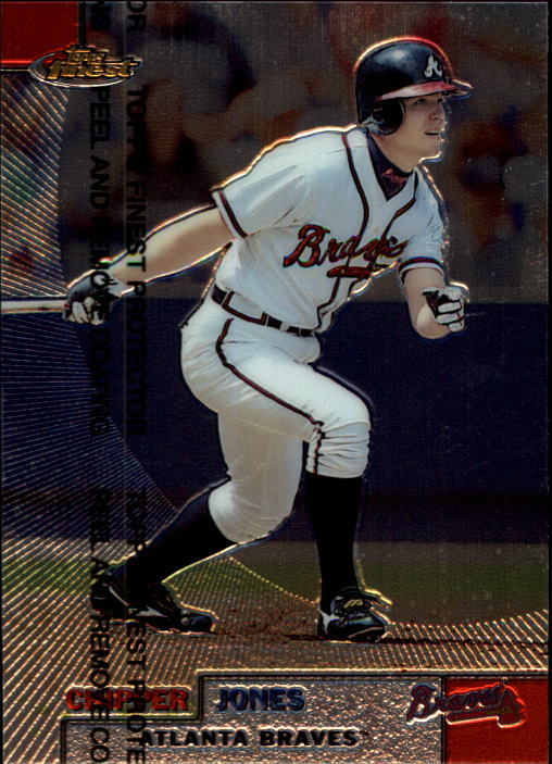 1999 Finest #16 Chipper Jones
