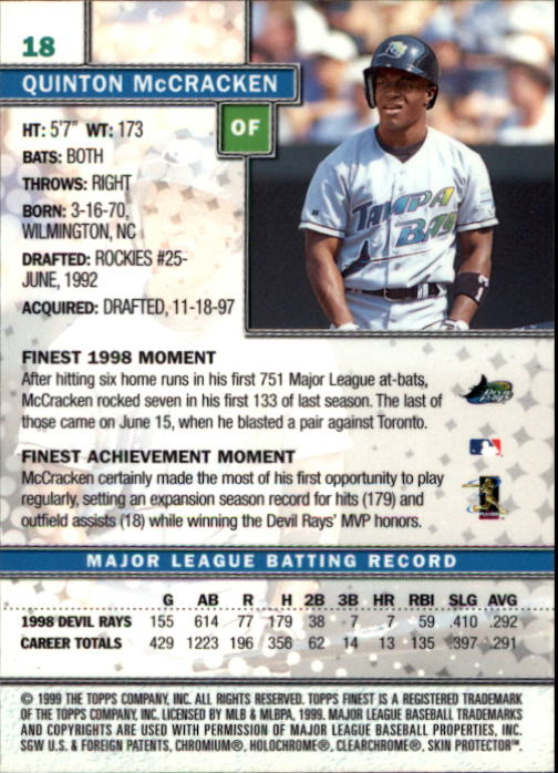 1999-Finest-Baseball-1-279-Finish-Your-Set-GOTBASEBALLCARDS thumbnail 37