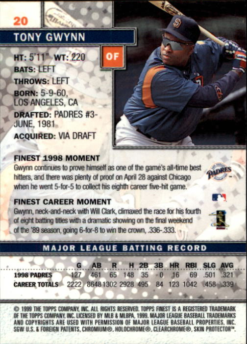 1999-Finest-Baseball-1-279-Finish-Your-Set-GOTBASEBALLCARDS thumbnail 41