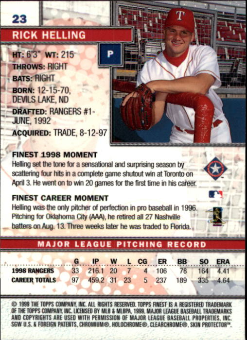 1999-Finest-Baseball-1-279-Finish-Your-Set-GOTBASEBALLCARDS thumbnail 47