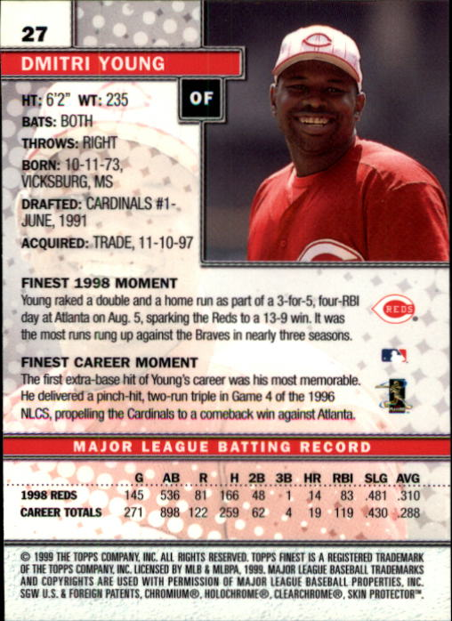 1999-Finest-Baseball-1-279-Finish-Your-Set-GOTBASEBALLCARDS thumbnail 55