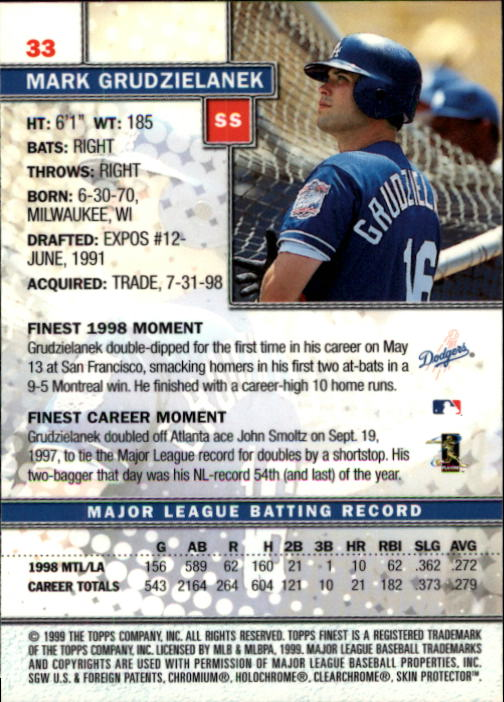 1999-Finest-Baseball-1-279-Finish-Your-Set-GOTBASEBALLCARDS thumbnail 67