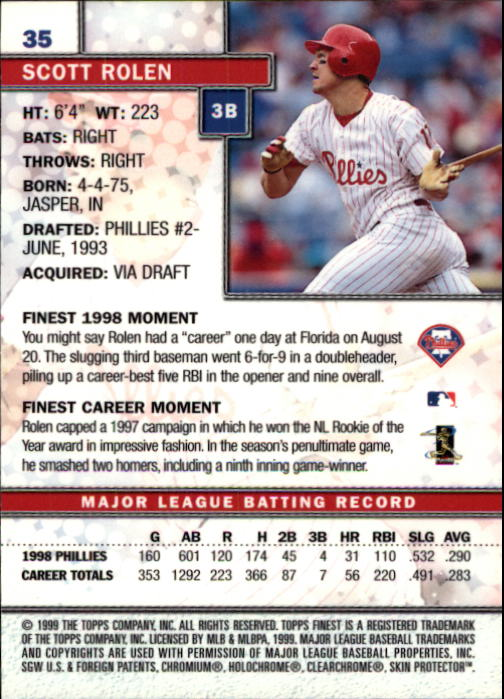 1999-Finest-Baseball-1-279-Finish-Your-Set-GOTBASEBALLCARDS thumbnail 71