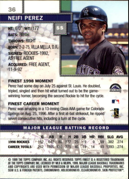 1999-Finest-Baseball-1-279-Finish-Your-Set-GOTBASEBALLCARDS thumbnail 73