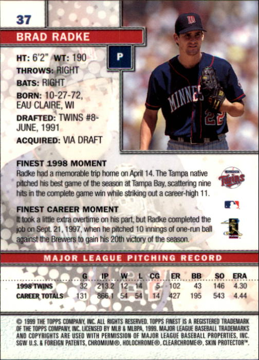 1999-Finest-Baseball-1-279-Finish-Your-Set-GOTBASEBALLCARDS thumbnail 75