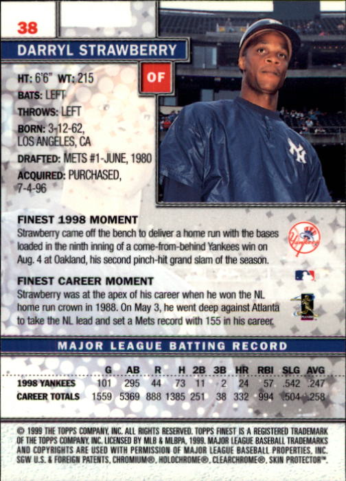1999-Finest-Baseball-1-279-Finish-Your-Set-GOTBASEBALLCARDS thumbnail 77