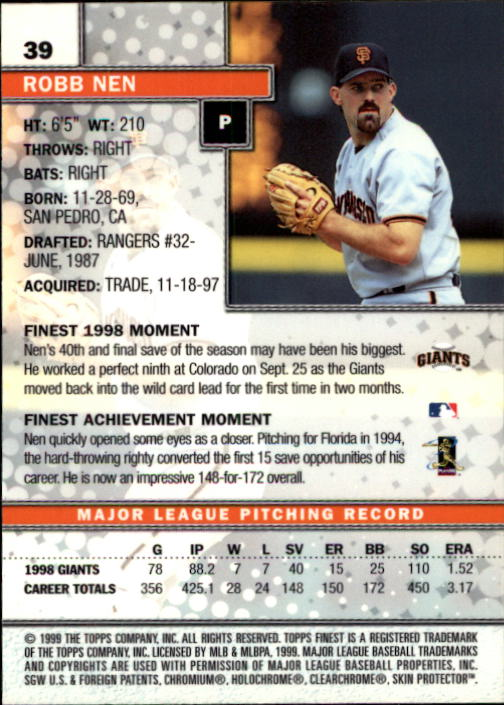 1999-Finest-Baseball-1-279-Finish-Your-Set-GOTBASEBALLCARDS thumbnail 79