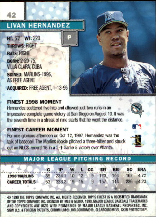 1999-Finest-Baseball-1-279-Finish-Your-Set-GOTBASEBALLCARDS thumbnail 85