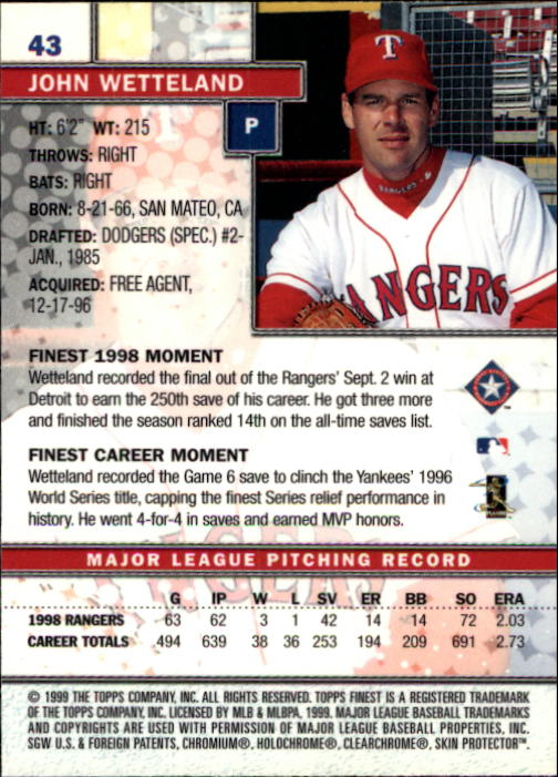 1999-Finest-Baseball-1-279-Finish-Your-Set-GOTBASEBALLCARDS thumbnail 87