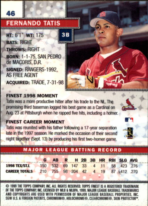 1999-Finest-Baseball-1-279-Finish-Your-Set-GOTBASEBALLCARDS thumbnail 93