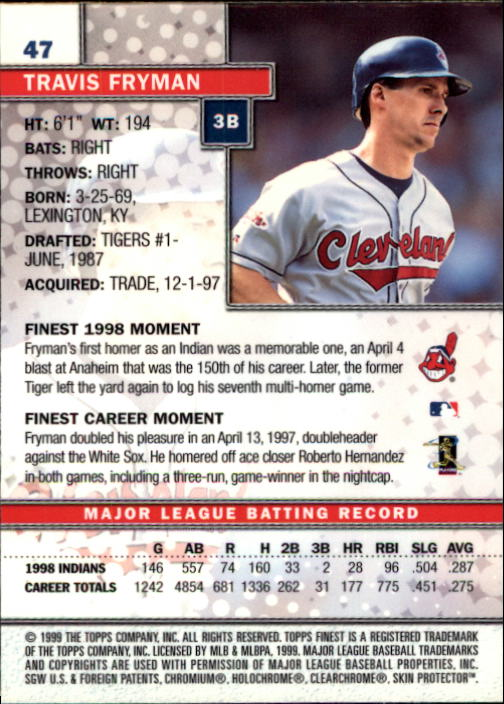 1999-Finest-Baseball-1-279-Finish-Your-Set-GOTBASEBALLCARDS thumbnail 95