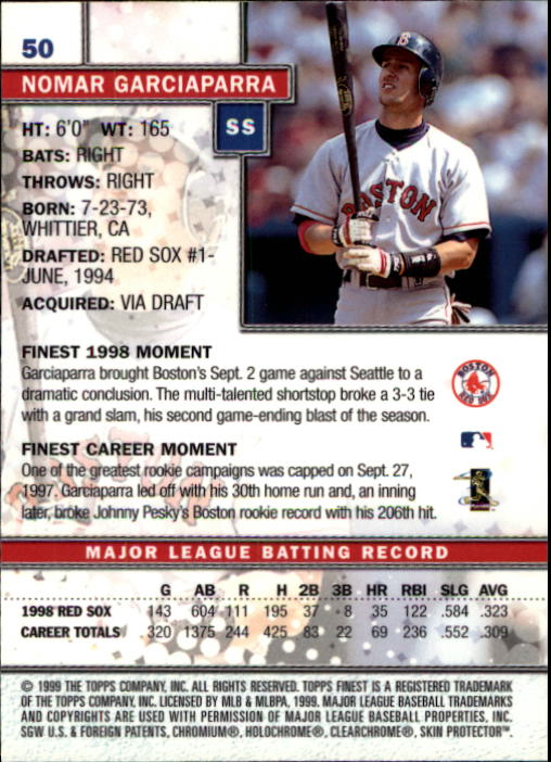 1999-Finest-Baseball-1-279-Finish-Your-Set-GOTBASEBALLCARDS thumbnail 101