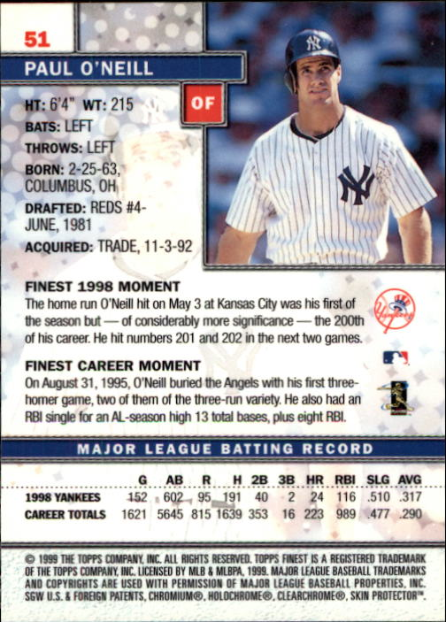 1999-Finest-Baseball-1-279-Finish-Your-Set-GOTBASEBALLCARDS thumbnail 103