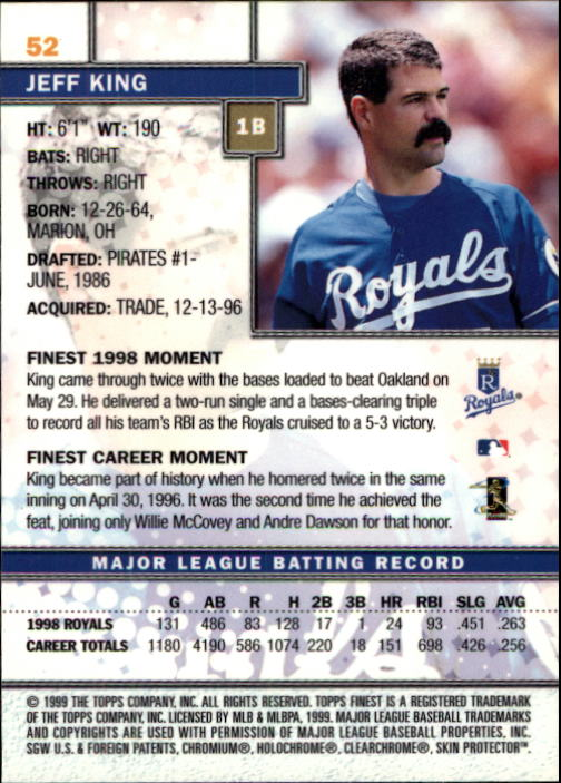 1999-Finest-Baseball-1-279-Finish-Your-Set-GOTBASEBALLCARDS thumbnail 105