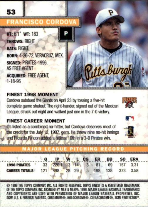1999-Finest-Baseball-1-279-Finish-Your-Set-GOTBASEBALLCARDS thumbnail 107