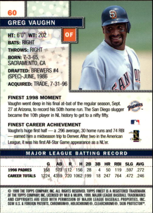 1999-Finest-Baseball-1-279-Finish-Your-Set-GOTBASEBALLCARDS thumbnail 121