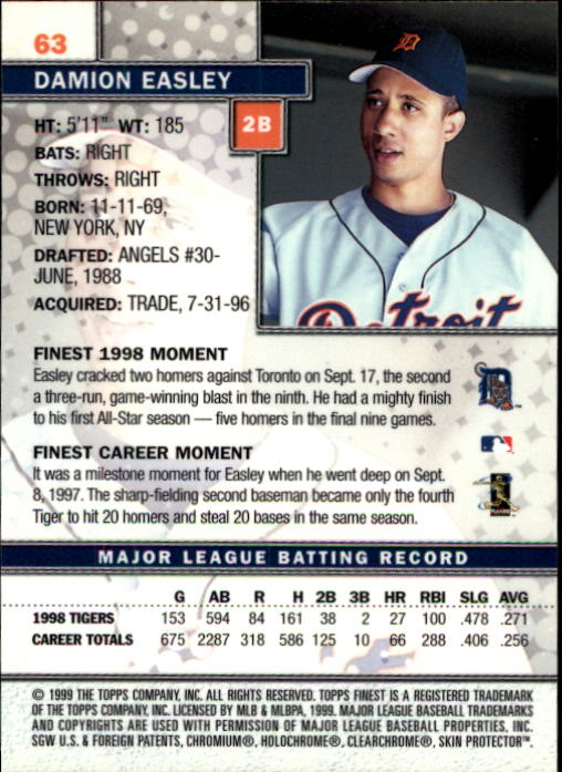 1999-Finest-Baseball-1-279-Finish-Your-Set-GOTBASEBALLCARDS thumbnail 127