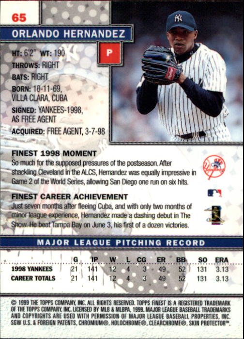 1999-Finest-Baseball-1-279-Finish-Your-Set-GOTBASEBALLCARDS thumbnail 131