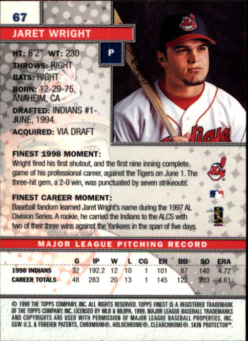 1999-Finest-Baseball-1-279-Finish-Your-Set-GOTBASEBALLCARDS thumbnail 135