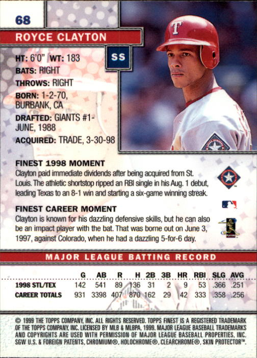 1999-Finest-Baseball-1-279-Finish-Your-Set-GOTBASEBALLCARDS thumbnail 137