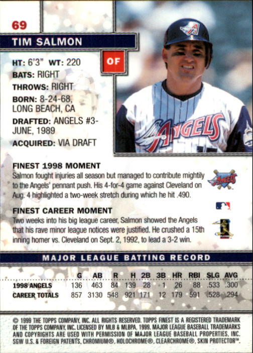 1999-Finest-Baseball-1-279-Finish-Your-Set-GOTBASEBALLCARDS thumbnail 139