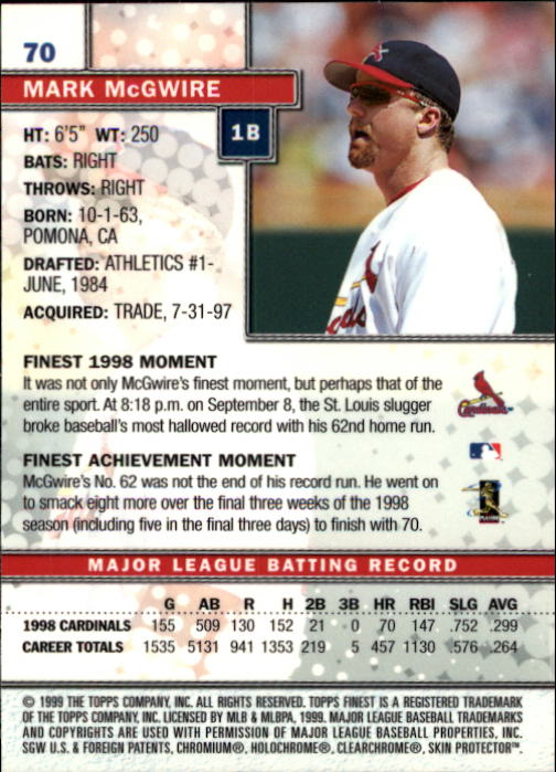 1999-Finest-Baseball-1-279-Finish-Your-Set-GOTBASEBALLCARDS thumbnail 141