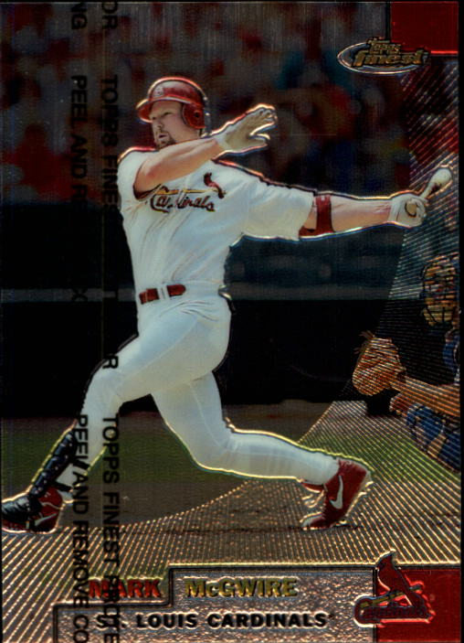 1999 Finest #70 Mark McGwire
