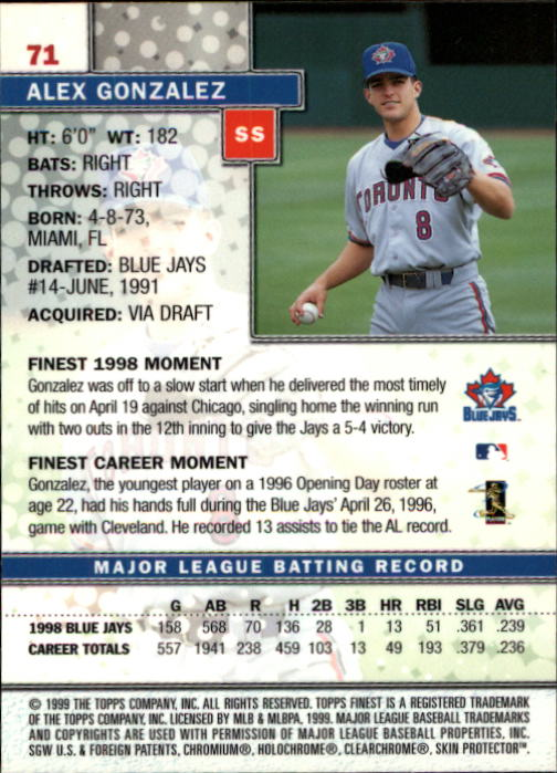 1999-Finest-Baseball-1-279-Finish-Your-Set-GOTBASEBALLCARDS thumbnail 143