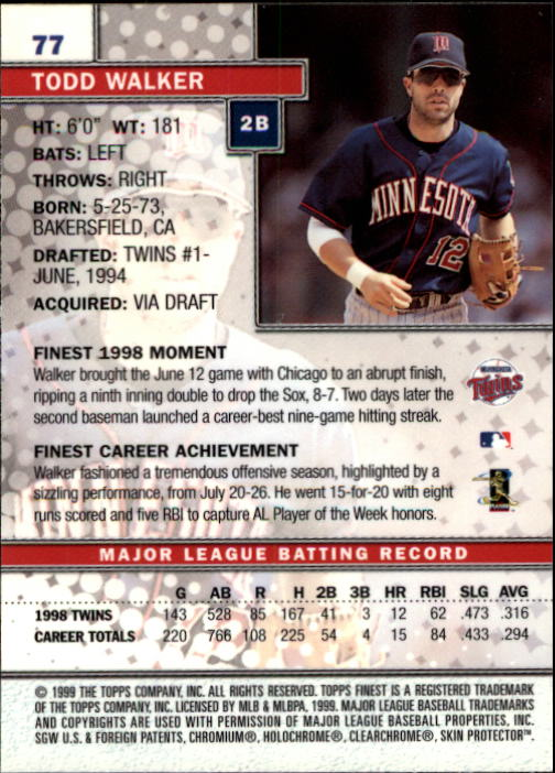 1999-Finest-Baseball-1-279-Finish-Your-Set-GOTBASEBALLCARDS thumbnail 155