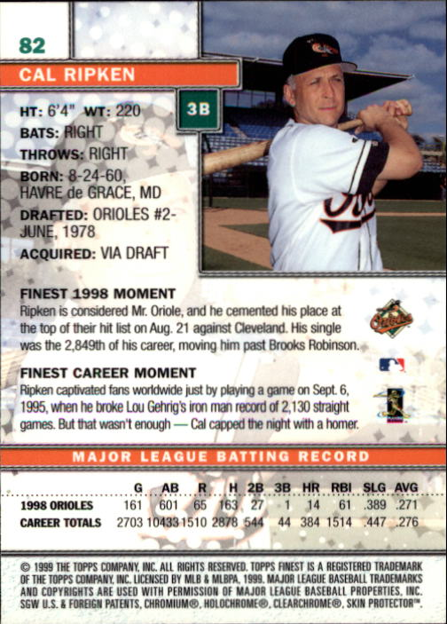 1999-Finest-Baseball-1-279-Finish-Your-Set-GOTBASEBALLCARDS thumbnail 165