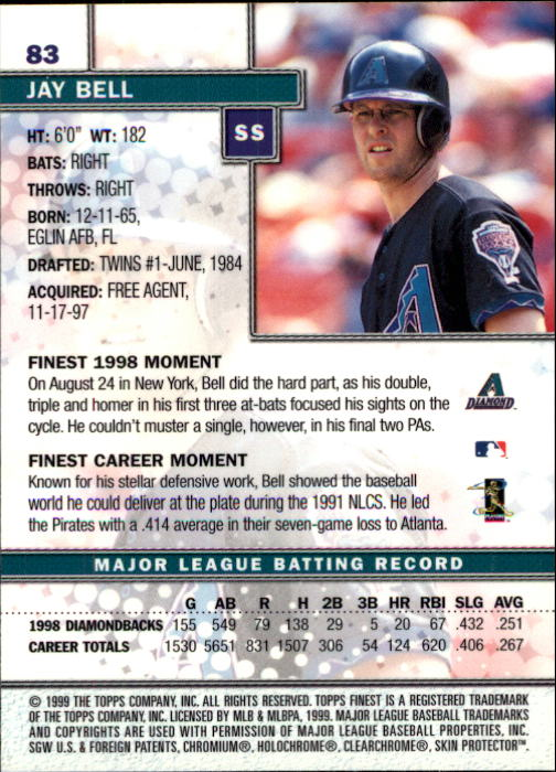 1999-Finest-Baseball-1-279-Finish-Your-Set-GOTBASEBALLCARDS thumbnail 167