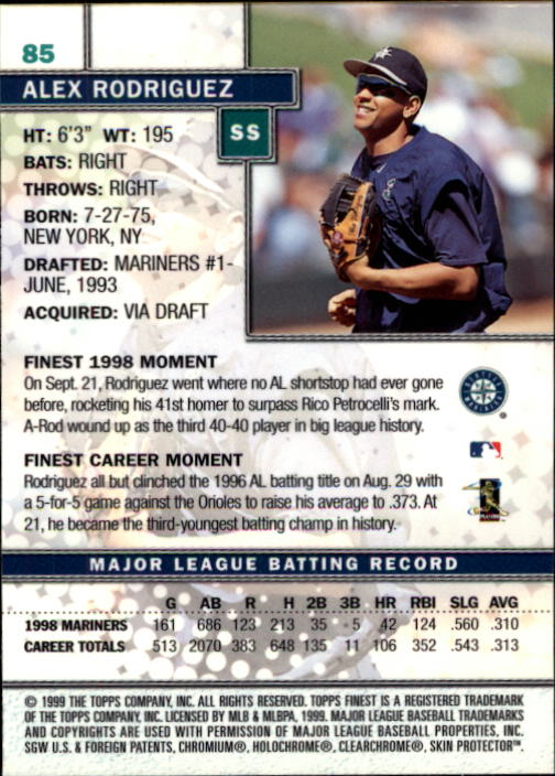 1999-Finest-Baseball-1-279-Finish-Your-Set-GOTBASEBALLCARDS thumbnail 171