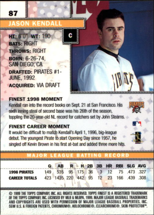 1999-Finest-Baseball-1-279-Finish-Your-Set-GOTBASEBALLCARDS thumbnail 175