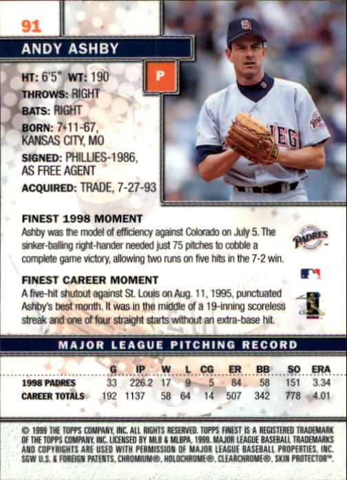1999-Finest-Baseball-1-279-Finish-Your-Set-GOTBASEBALLCARDS thumbnail 181