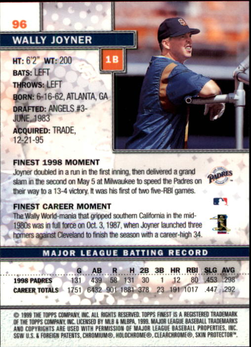 1999-Finest-Baseball-1-279-Finish-Your-Set-GOTBASEBALLCARDS thumbnail 191