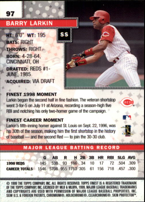 1999-Finest-Baseball-1-279-Finish-Your-Set-GOTBASEBALLCARDS thumbnail 193