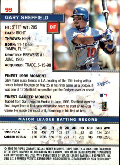 1999-Finest-Baseball-1-279-Finish-Your-Set-GOTBASEBALLCARDS thumbnail 197
