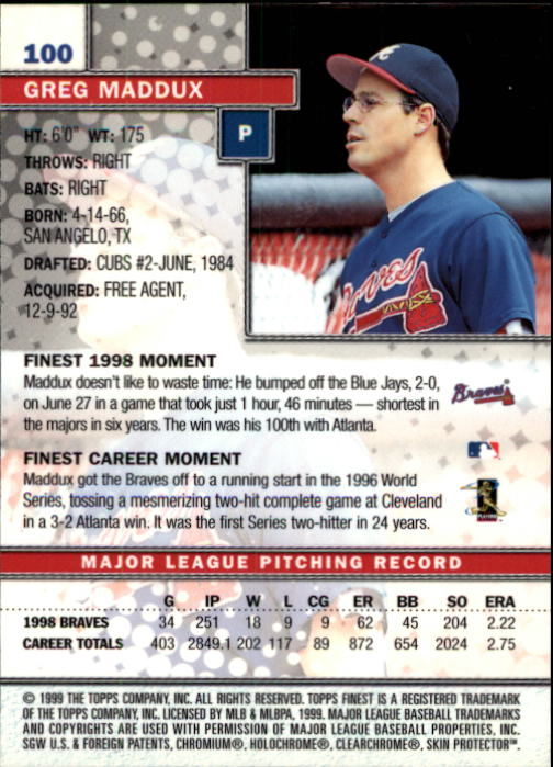 1999-Finest-Baseball-1-279-Finish-Your-Set-GOTBASEBALLCARDS thumbnail 199
