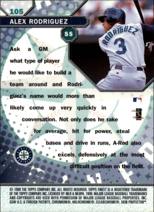 1999-Finest-Baseball-1-279-Finish-Your-Set-GOTBASEBALLCARDS thumbnail 201