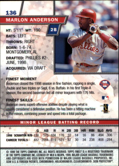 1999-Finest-Baseball-1-279-Finish-Your-Set-GOTBASEBALLCARDS thumbnail 238