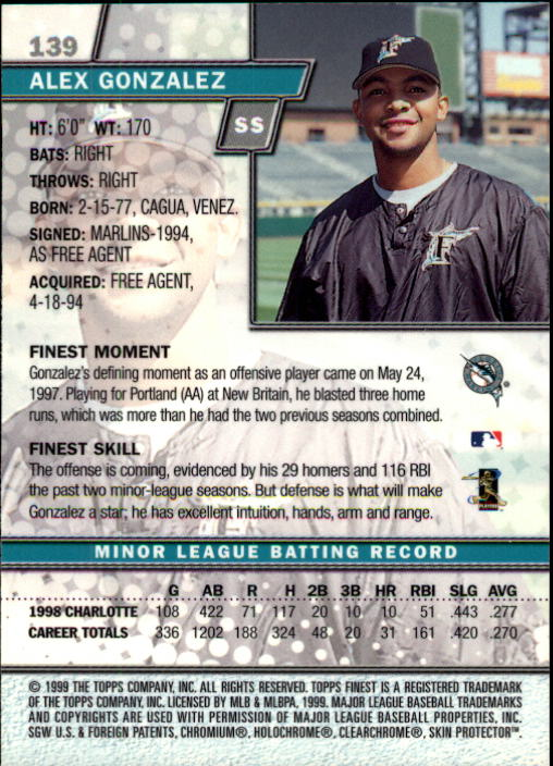 1999-Finest-Baseball-1-279-Finish-Your-Set-GOTBASEBALLCARDS thumbnail 240