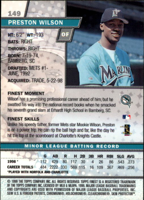 1999-Finest-Baseball-1-279-Finish-Your-Set-GOTBASEBALLCARDS thumbnail 254
