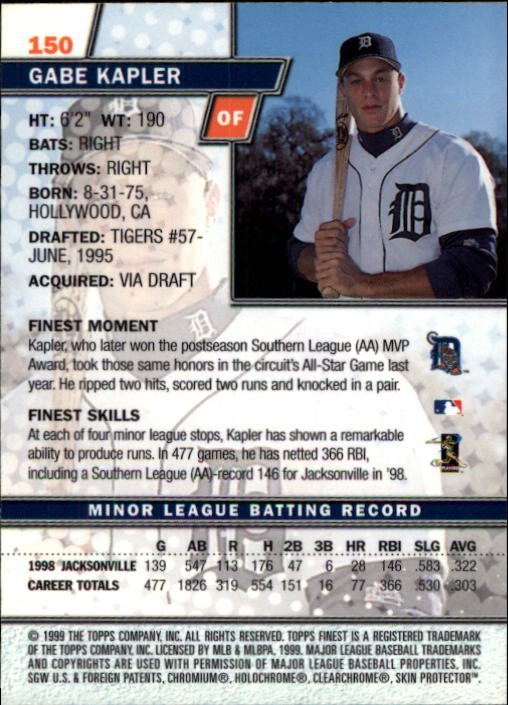 1999-Finest-Baseball-1-279-Finish-Your-Set-GOTBASEBALLCARDS thumbnail 256