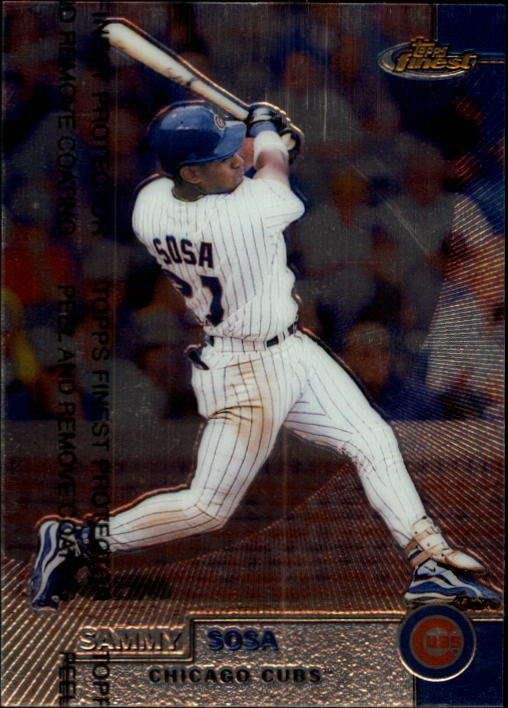 1999 Finest #250 Sammy Sosa