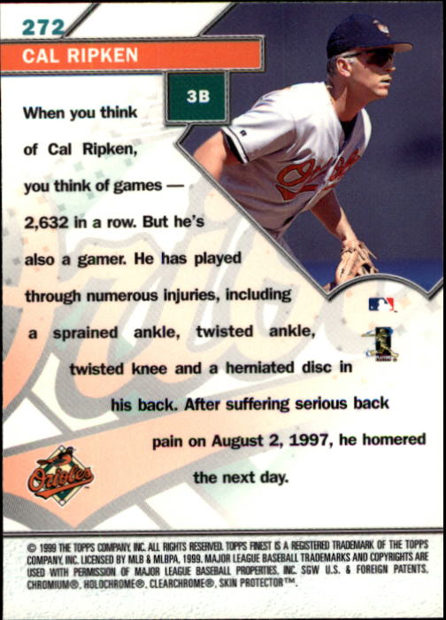 1999-Finest-Baseball-1-279-Finish-Your-Set-GOTBASEBALLCARDS thumbnail 264