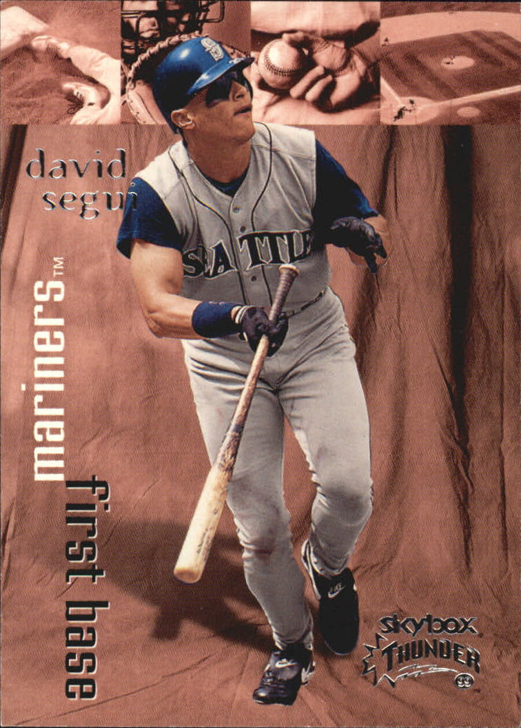 1999 SkyBox Thunder #26 David Segui