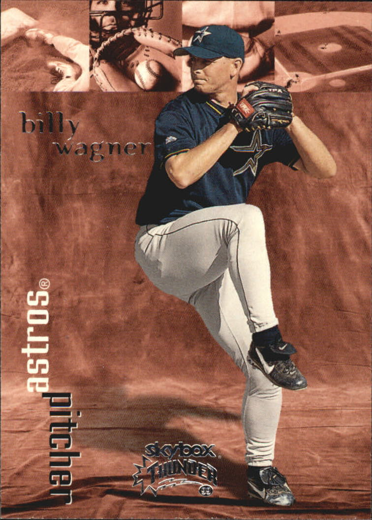 1999 SkyBox Thunder #31 Billy Wagner