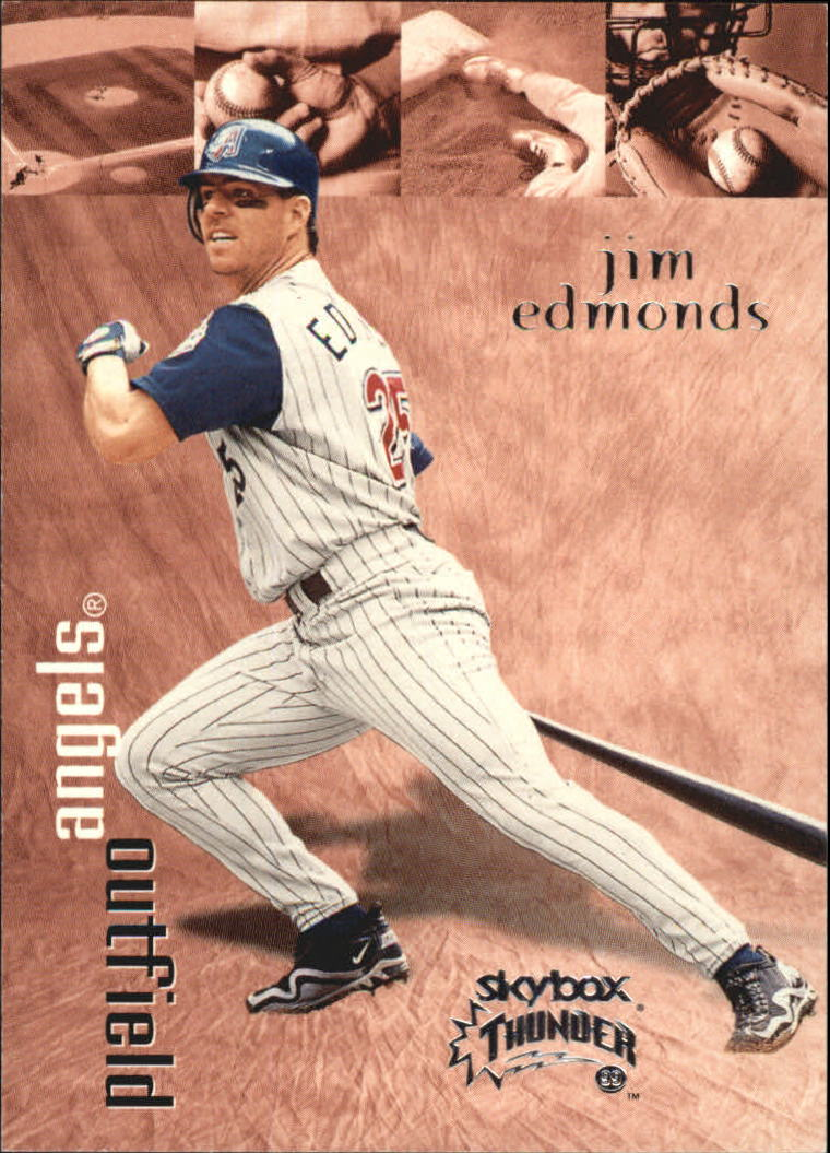 1999 SkyBox Thunder #33 Jim Edmonds