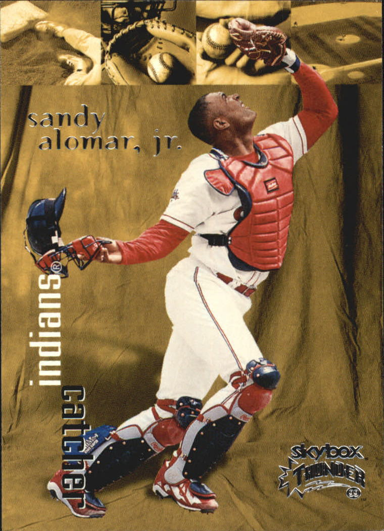 1999 SkyBox Thunder #37 Sandy Alomar Jr.